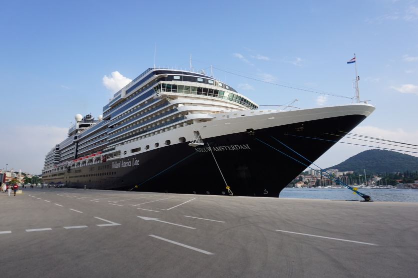 Holland america ship.