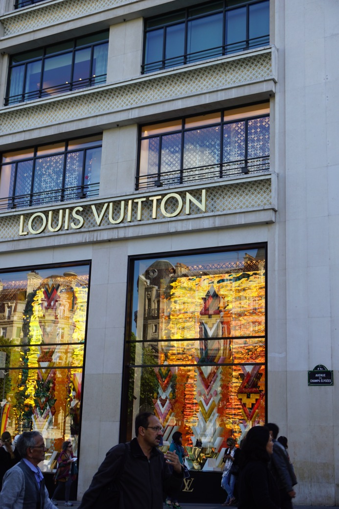 Luis Vuitton, In Paris, France.